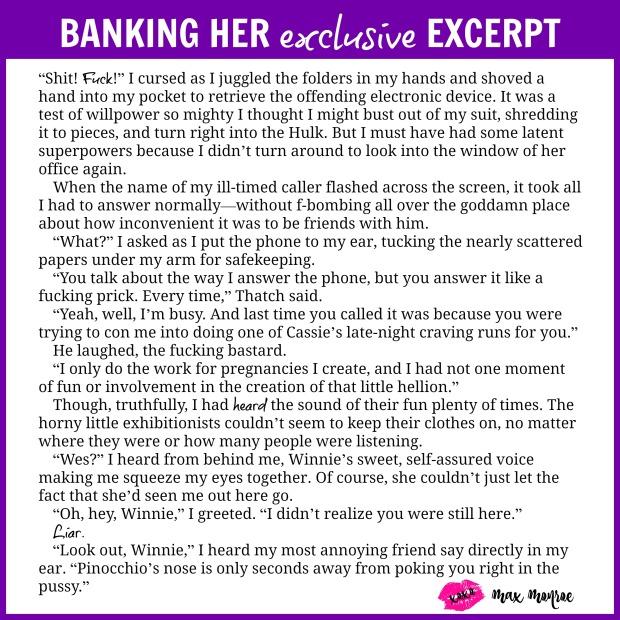 Banking Her Excerpt
